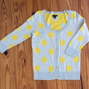 3/4 length sleeve cardigan sweater size M